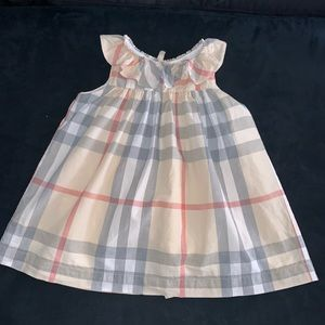 Burberry toddler dress 18mnths!  Classic pattern